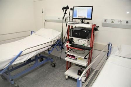Nueva sala de procedimientos endoscópicos en el Houssay