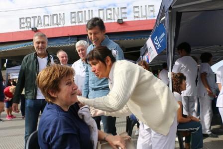 Más de 20.000 personas ya se vacunaron gratis contra la gripe en San Isidro