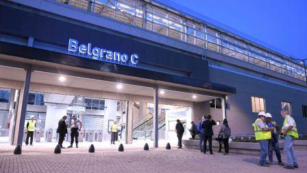 Detienen a tres delincuentes en la estación Belgrano del Tren Mitre