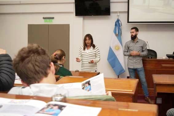 En el HCD de San Isidro se lanzó la sexta edición del programa Banca 25