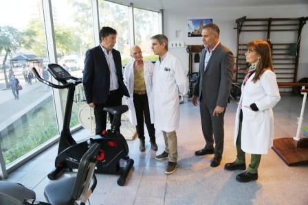El Hospital Central de San Isidro modernizó el sector de kinesiología