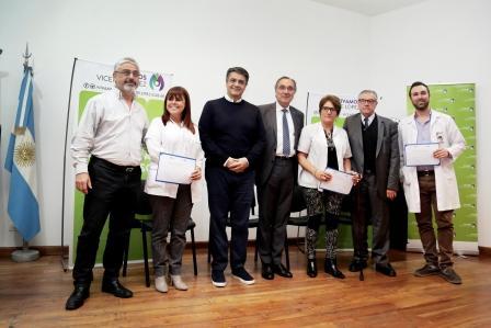 Jorge Macri entregó certificados a médicos que realizaron una capacitación