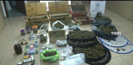 Un operativo policial desbarató una banda que distribuía y comercializaba drogas en Tigre y Malvinas Argentinas