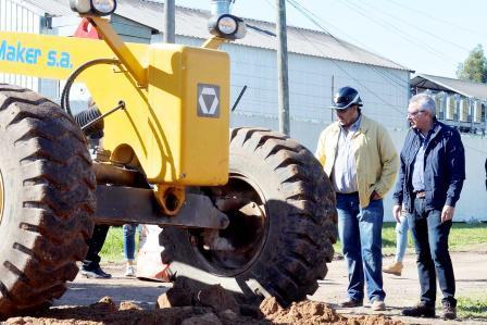 Julio Zamora supervisó obras realizadas con fondos municipales en Benavídez Sur3