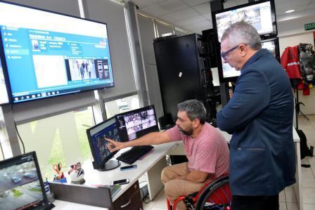 El intendente Julio Zamora presentó el software desarrollado por la compañía NEC, que con alto nivel de precisión permite la búsqueda e identificación de personas con antecedentes penales o en situación de extravío