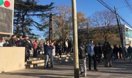 Evacuaron parte de los estudios de TELEFE en Martínez por amenaza de bomba