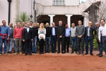 Intendentes Peronistas de la Primera y Tercera Sección de la Provincia de Buenos Aires se reunieron en la Quinta