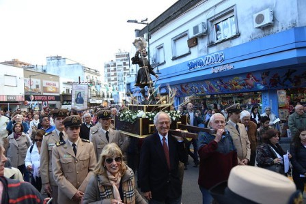 Cientos de vecinos celebraron las fiestas patronales de San Isidro