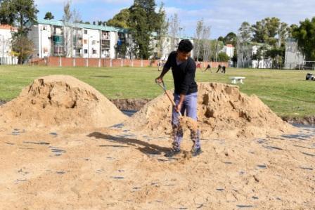 San Fernando pronto tendrá su nueva cancha para la práctica de deportes de playa
