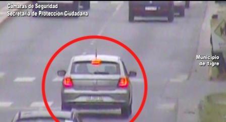 Impactante persecución en Tigre: conducía un auto robado, se tiró del vehículo en movimiento para escapar y fue detenido por el COT