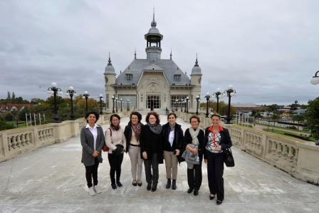 El Museo de Arte Tigre recibió la visita de integrantes del Club Internacional