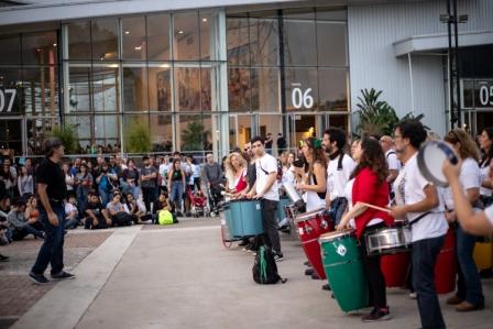 Vicente López: El taller de Percusión municipal participó del Festival Nuestro