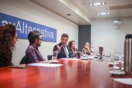 Sergio Massa recibió hoy a científicos e investigadores del Conicet y de diversas agencias de investigación, quienes están sufriendo un severo recorte de presupuesto