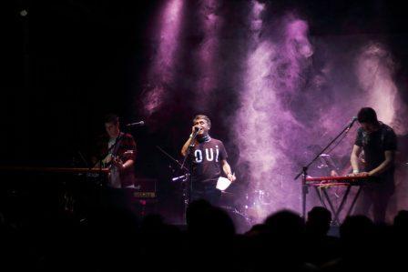 Latinosofia estrena sus canciones en Buenos Aires
