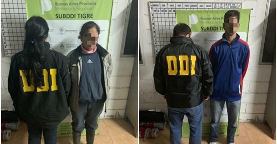 Obligaban a sus sobrinos de entre 5 y 10 años a participar en orgías y fueron detenidos en Tigre