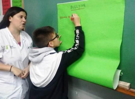 El Municipio de San Fernando previene el Bullying en las escuelas con talleres didácticos