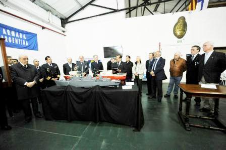El Museo Naval  de Tigre festejó su 127° aniversario