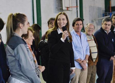 Vidal anunció la tarifa social de electricidad para clubes de barrio
