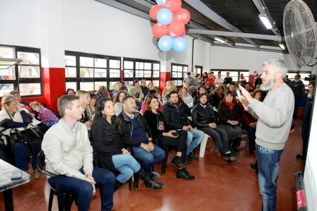 El municipio capacitó a las cooperadoras escolares de Tigre