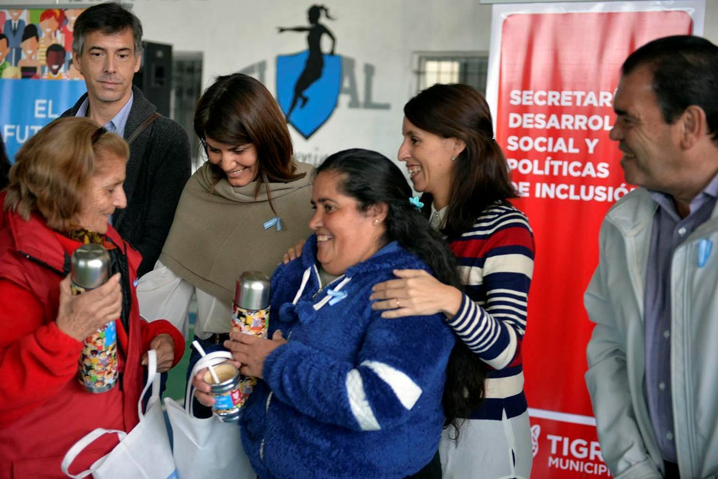 Tigre distinguió a más de 250 trabajadoras vecinales por su labor diaria en la comunidad