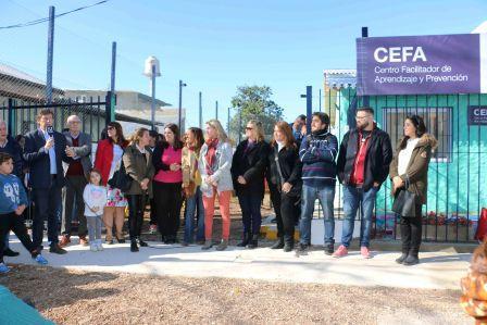 San Isidro inauguró un centro educativo para chicos con dificultades de aprendizaje