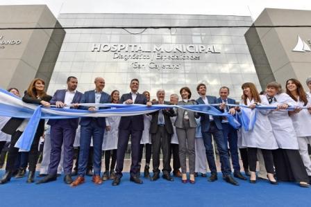 Luis Andreotti inauguró el Hospital Municipal de San Fernando