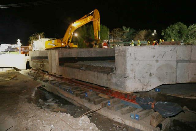 Cada vez falta menos para inaugurar el túnel de Sarratea en San Isidro