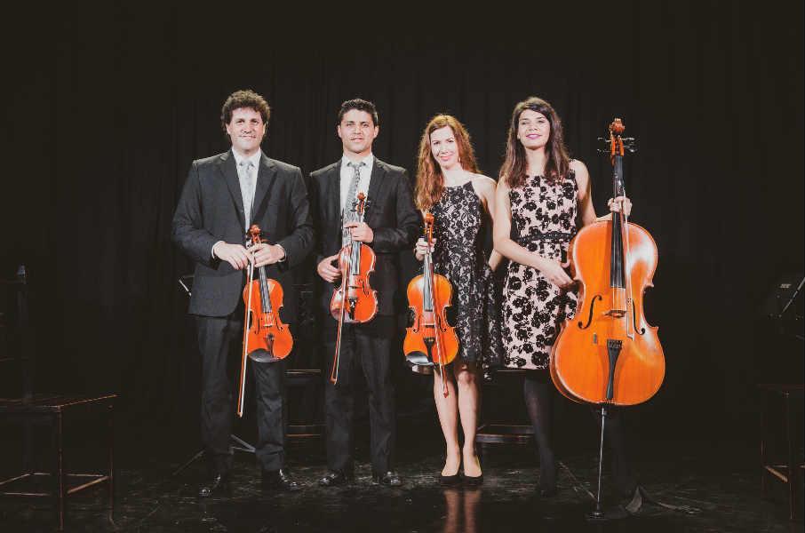 El Cuarteto Delta se presentará en vivo en la Torre Ader