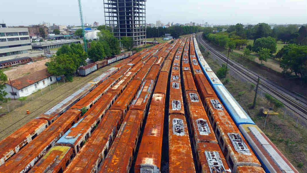 Con recaudación récord, comienza la limpieza de un predio ferroviario clave en el Gran Buenos Aires
