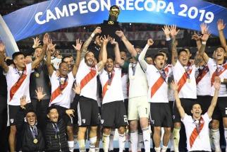 River venció a Athletico Paranaense  y se quedó con la Recopa Sudamericana