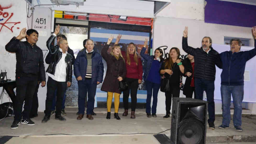 Se lanzó la Corriente Primero la Patria en Tigre