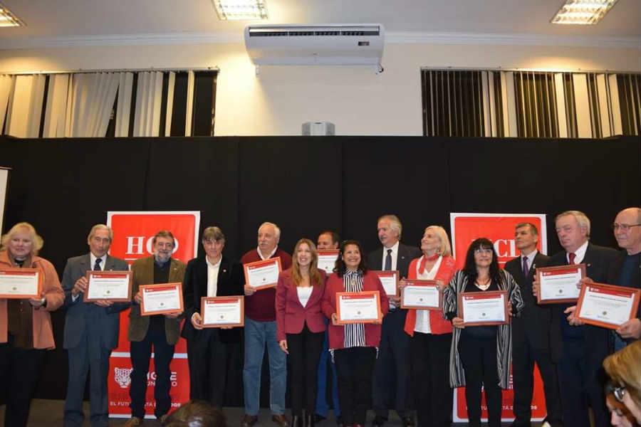 En el HCD de Tigre se entregaron los premios León del Norte 2019