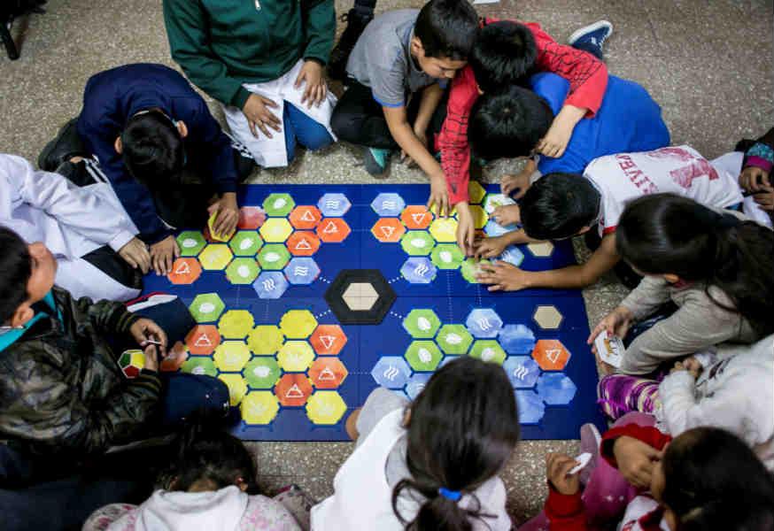 Vicente López implementa juegos para fomentar la lectoescritura