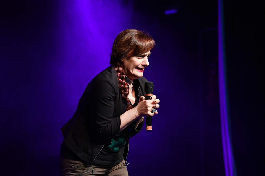 """Las """"Mujeres del Stand Up"""" llenaron de risas el Teatro Martinelli de San Fernando"""