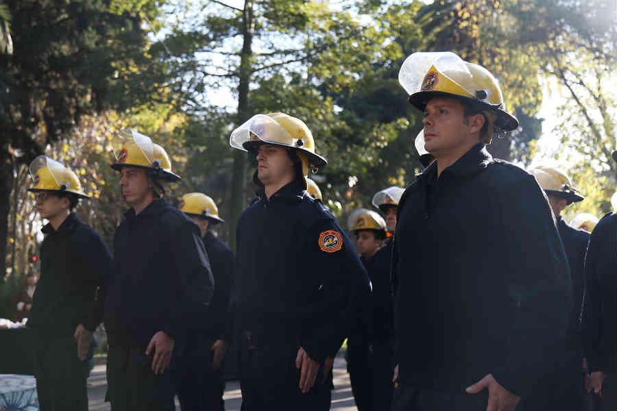 Vicente López celebró el Día Nacional del Bombero Voluntario