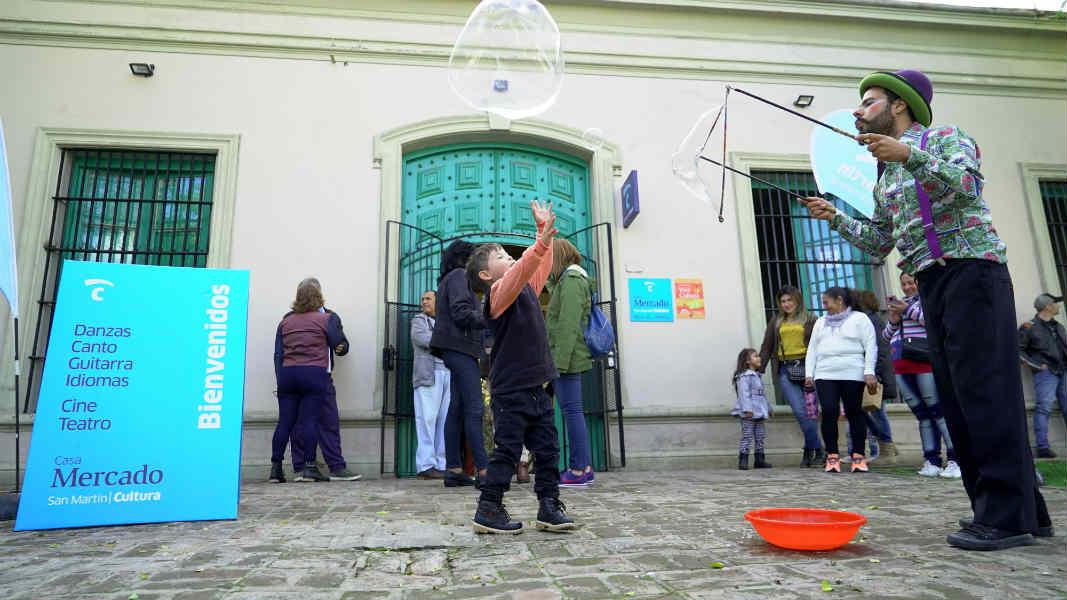 Katopodis presentó la Casa Mercado totalmente renovada