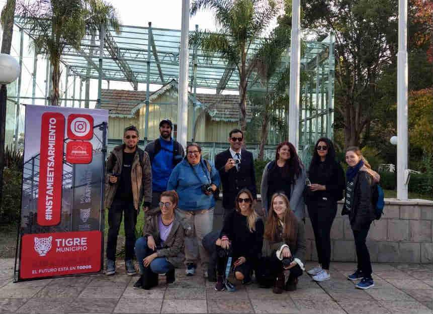 En el Museo Casa Sarmiento, Tigre celebró un nuevo Instameet