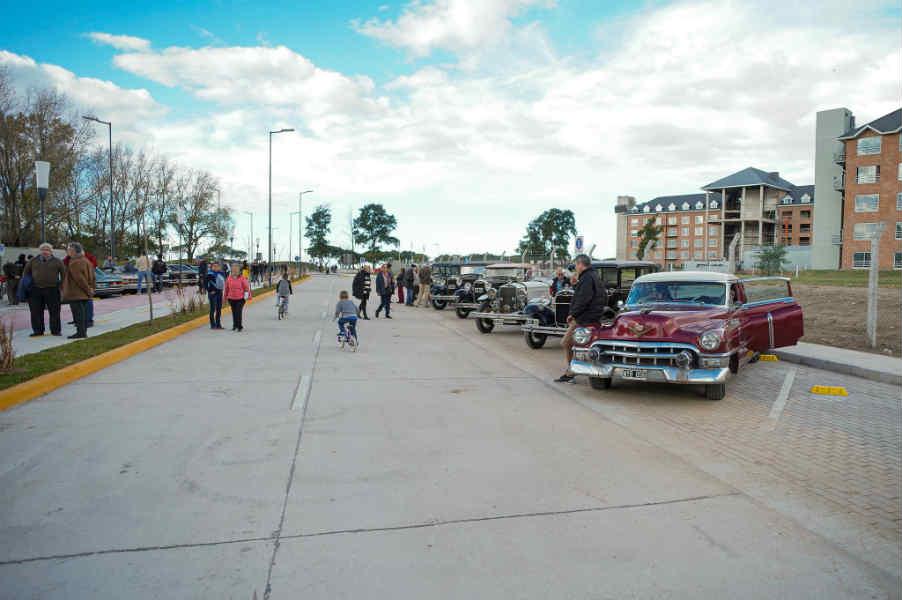 Vicente López inauguró el boulevard Lavalle y suma un acceso al Paseo de la Costa