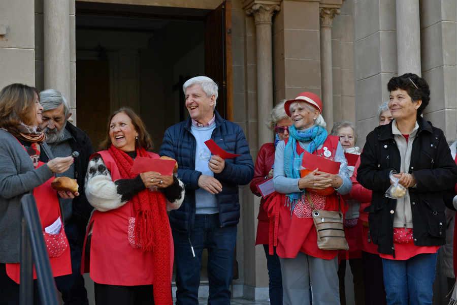 San Fernando: Luis Andreotti acompañó a Cáritas en el lanzamiento de la Colecta Anual 2019