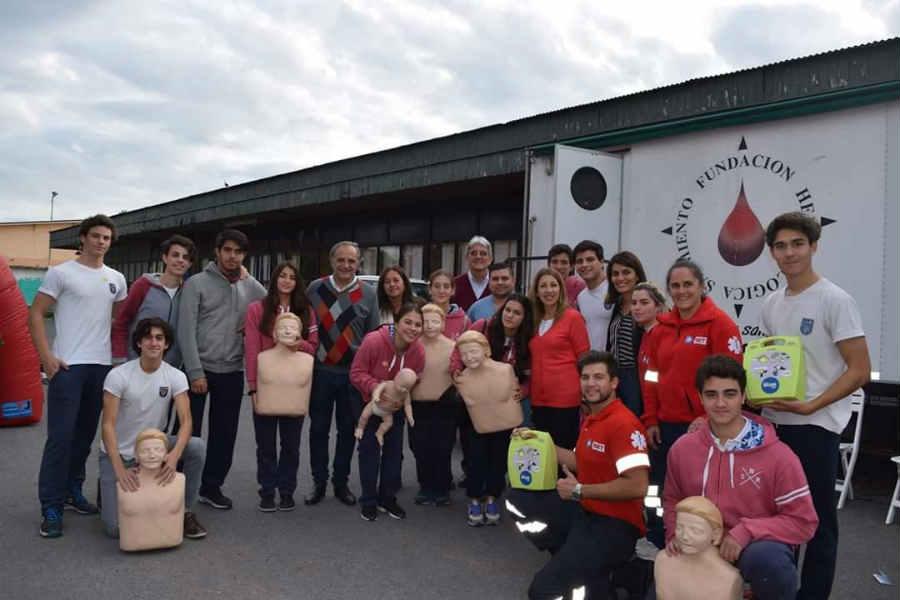 Tigre acompañó a la fundación Primeros Pasos en una nueva jornada de donación de Médula ósea