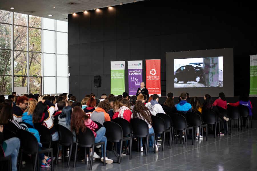 Vicente López organizó una jornada sobre Seguridad Vial para estudiantes de secundaria