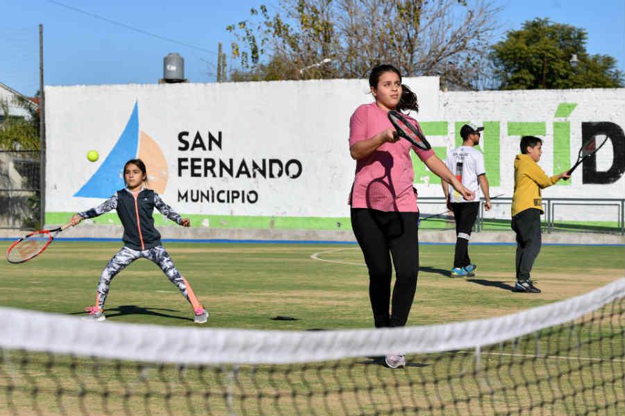 Se celebró en San Fernando un nuevo Torneo de Tenis Interescuelas