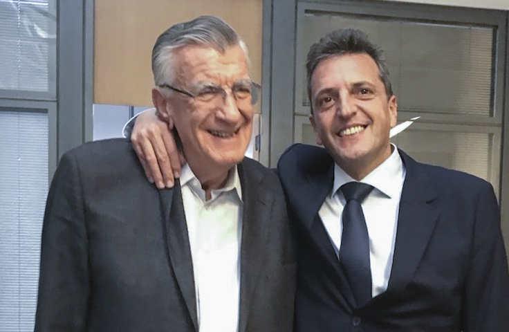 josé Luis Gioja y Sergio Massa