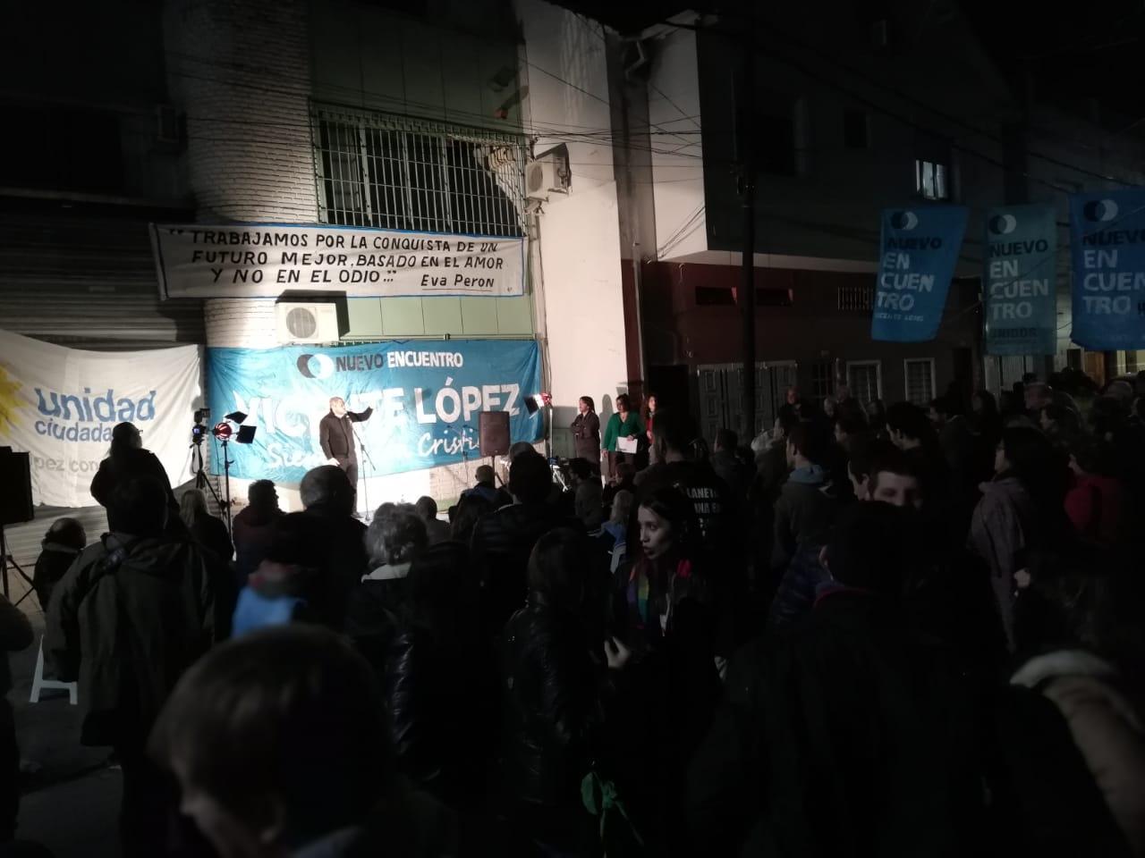 Nuevo Encuentro Vicente López celebró sus 10 años en el distrito