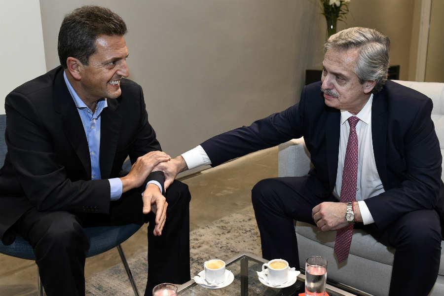 """Alberto Fernández y Sergio Massa acordaron la creación del """"Frente de Todos"""" y dejaron pendiente si se enfrentarán en las PASO"""