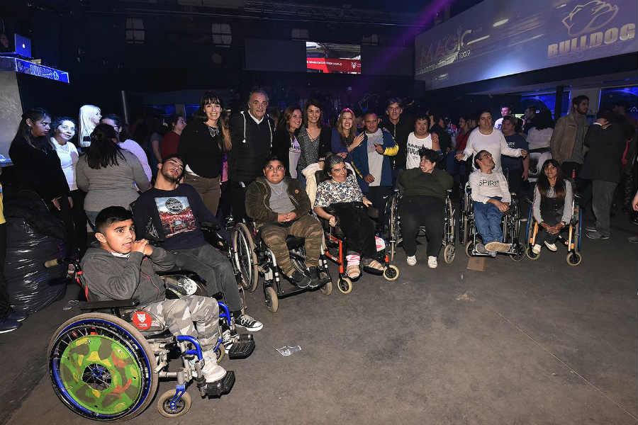 Con un baile inclusivo, Tigre brindó una gran jornada recreativa para la comunidad