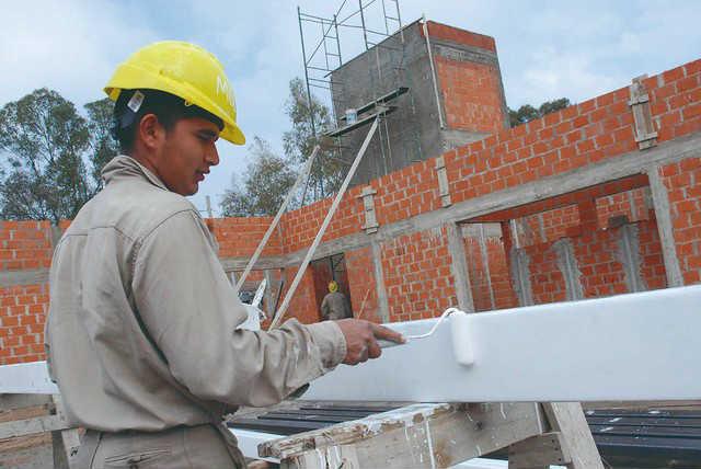 El costo de la construcción subió 4,2% en octubre