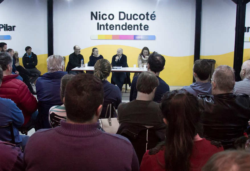 Nueva Reunión de la Mesa de Juntos por el Cambio en Pilar