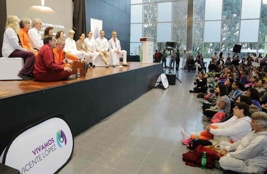 Nuevo festejo del Día Internacional del Yoga en Vicente López