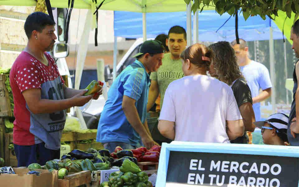 Llegan nuevas ediciones de Mercado a tu barrio a Vicente López